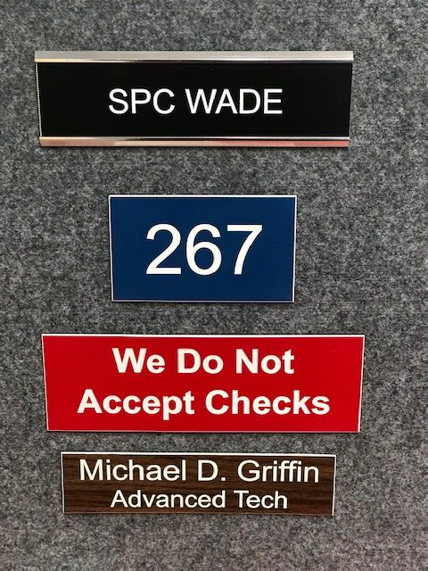 Door and Name Plates