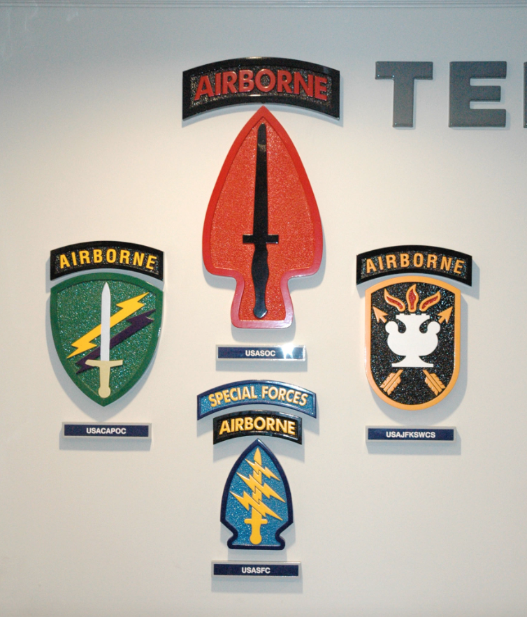 Military Wall Signage 6