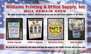 Covid Information Signage